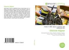 Buchcover von Etienne Aigner