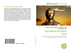 Обложка Gandhāran Buddhist Texts