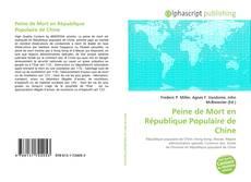 Capa do livro de Peine de Mort en République Populaire de Chine