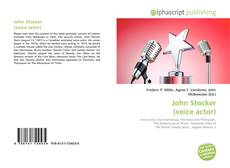 Bookcover of John Stocker (voice actor)