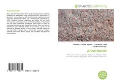Обложка Anorthosite