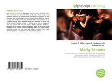 Capa do livro de Marky Ramone