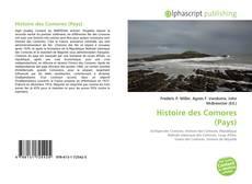 Bookcover of Histoire des Comores (Pays)