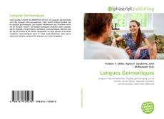 Buchcover von Langues Germaniques