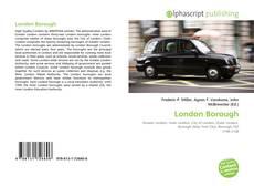 Portada del libro de London Borough