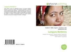 Couverture de Langues Berbères