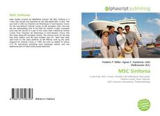 Bookcover of MSC Sinfonia