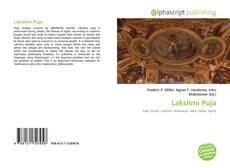 Capa do livro de Lakshmi Puja