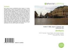Bookcover of Amharic
