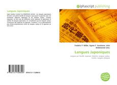 Couverture de Langues Japoniques