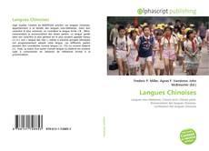 Portada del libro de Langues Chinoises