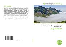 Bookcover of Airy Routier
