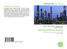 Bookcover of Demographics of Kuwait