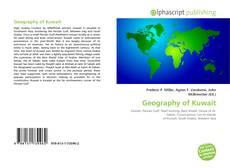 Couverture de Geography of Kuwait