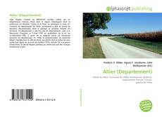 Capa do livro de Allier (Département)