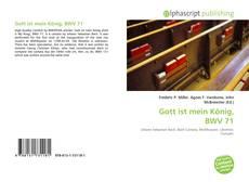 Bookcover of Gott ist mein König, BWV 71