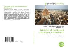 Portada del libro de Cathedral of the Blessed Sacrament, Christchurch