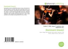 Bookcover of Dominant (music)