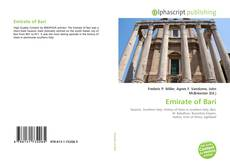 Bookcover of Emirate of Bari