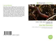 Обложка Loa loa filariasis