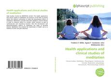 Buchcover von Health applications and clinical studies of meditation