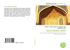 Обложка Jama Masjid, Delhi