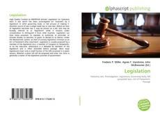 Bookcover of Legislation