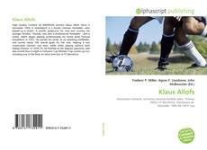 Bookcover of Klaus Allofs