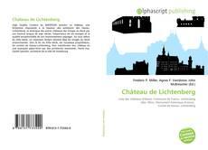 Обложка Château de Lichtenberg