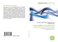 Bookcover of Assemblée Constituante