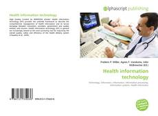 Bookcover of Health information technology
