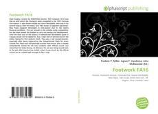 Bookcover of Footwork FA16