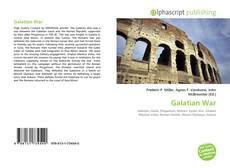 Bookcover of Galatian War
