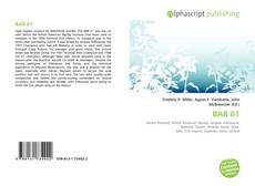 Bookcover of BAR 01