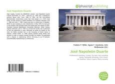 Bookcover of José Napoleón Duarte