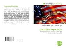 Couverture de Cinquième République