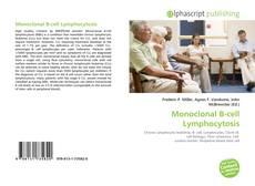 Buchcover von Monoclonal B-cell Lymphocytosis