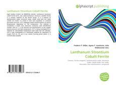 Bookcover of Lanthanum Strontium Cobalt Ferrite