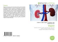 Organe kitap kapağı