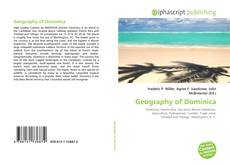 Buchcover von Geography of Dominica