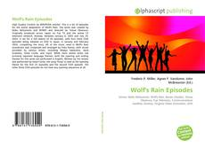 Bookcover of Wolf's Rain Episodes