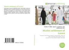 Bookcover of Muslim settlement of Lucera