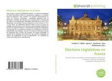 Buchcover von Élections Législatives en France