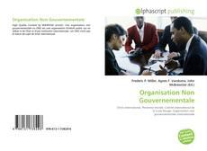 Couverture de Organisation Non Gouvernementale