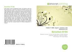 Capa do livro de Benetton B186