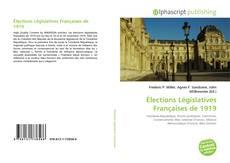 Bookcover of Élections Législatives Françaises de 1919