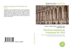 Portada del libro de Élections Législatives Françaises de 1924