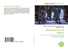 Bookcover of Military history of Algeria