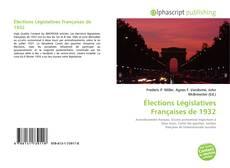 Bookcover of Élections Législatives Françaises de 1932