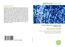 Capa do livro de Benetton B192